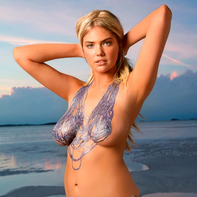Kate Upton with arms up at the is listed (or ranked) 7 on the list Hot Kate Upton Boobs Pics