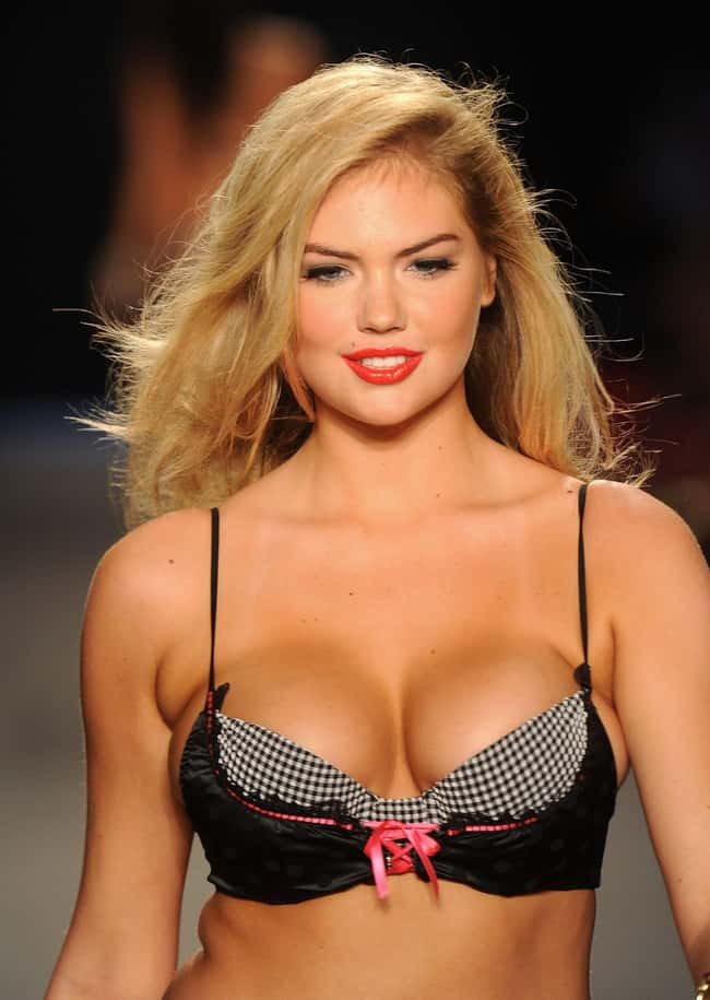 Kkate Upton at fashion show is listed (or ranked) 13 on the list Hot Kate Upton Boobs Pics
