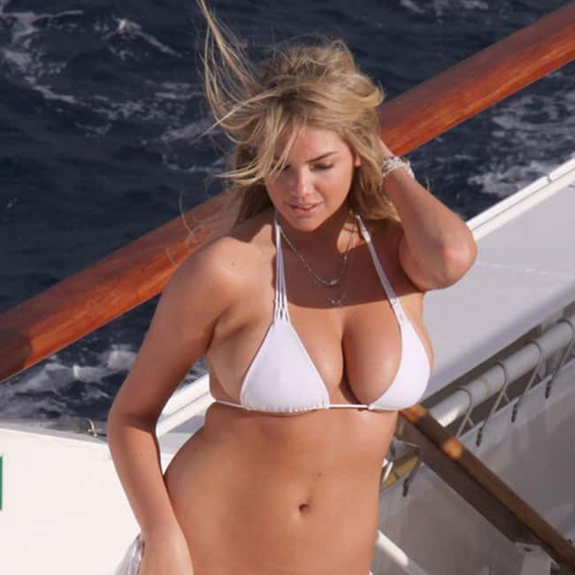 Kate Upton on a boat is listed (or ranked) 15 on the list Hot Kate Upton Boobs Pics
