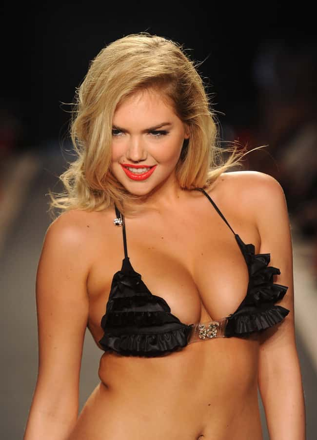 Kate Upton at a fashion show i is listed (or ranked) 12 on the list Hot Kate Upton Boobs Pics