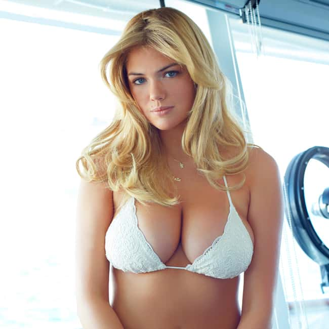 Kate Upton in White bikini is listed (or ranked) 5 on the list Hot Kate Upton Boobs Pics