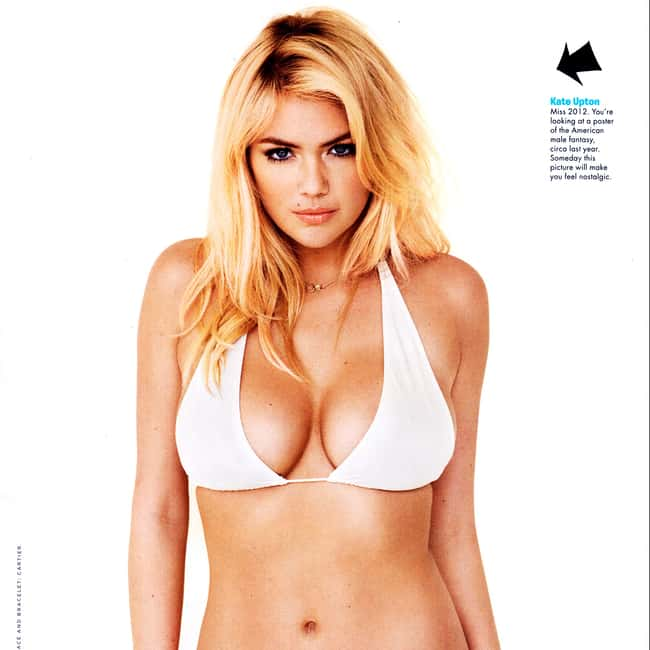 Kate Upton in white bikini in is listed (or ranked) 8 on the list Hot Kate Upton Boobs Pics