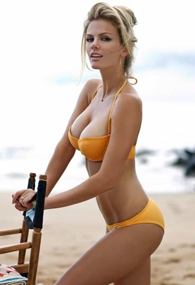 Brooklyn Decker leaning on som... is listed (or ranked) 2 on the list Hot Brooklyn Decker Boobs Pics