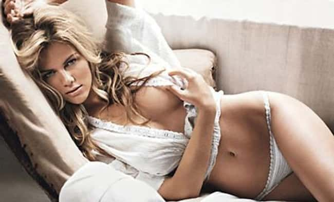Brooklyn Decker sofa shot is listed (or ranked) 20 on the list Hot Brooklyn Decker Boobs Pics