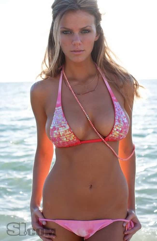Brooklyn Decker in red shiny b is listed (or ranked) 12 on the list Hot Brooklyn Decker Boobs Pics