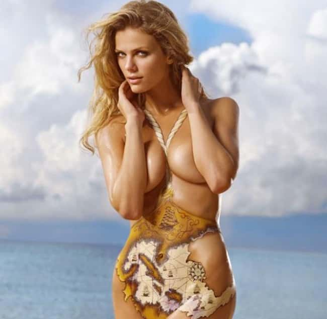 Brooklyn Decker as a human map is listed (or ranked) 7 on the list Hot Brooklyn Decker Boobs Pics