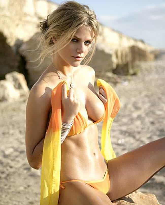 Brooklyn Decker in fiery color... is listed (or ranked) 1 on the list Hot Brooklyn Decker Boobs Pics