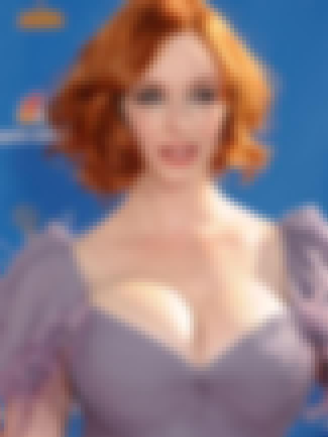 Christina Hendricks low cut ga... is listed (or ranked) 2 on the list Hot Christina Hendricks Boobs Pics