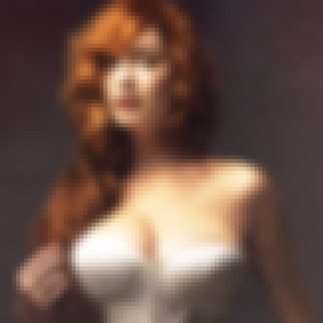Christina Hendricks in a strap... is listed (or ranked) 3 on the list Hot Christina Hendricks Boobs Pics