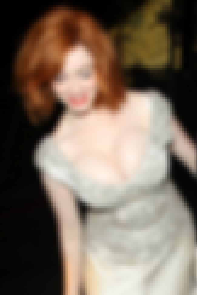 Christina Hendricks leaning ov... is listed (or ranked) 2 on the list Hot Christina Hendricks Boobs Pics