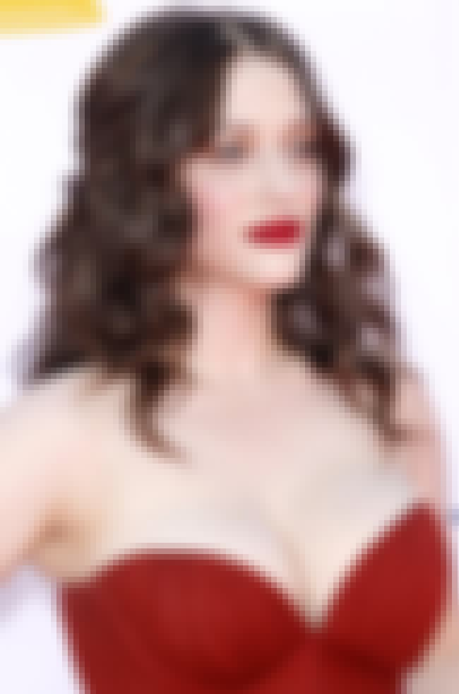 Kat Dennings in red strapless ... is listed (or ranked) 2 on the list Hot Kat Dennings Boobs Pics
