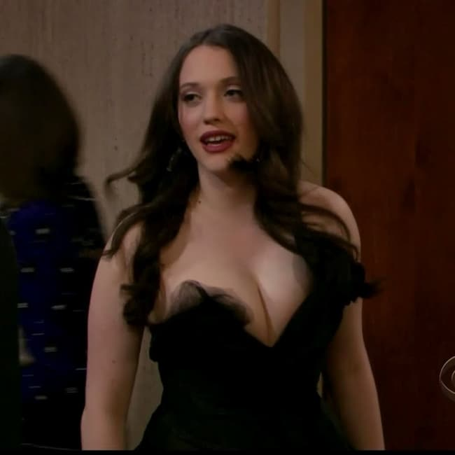 Kat Dennings In Odd Fancy Dres Is Listed Or Ranked 2