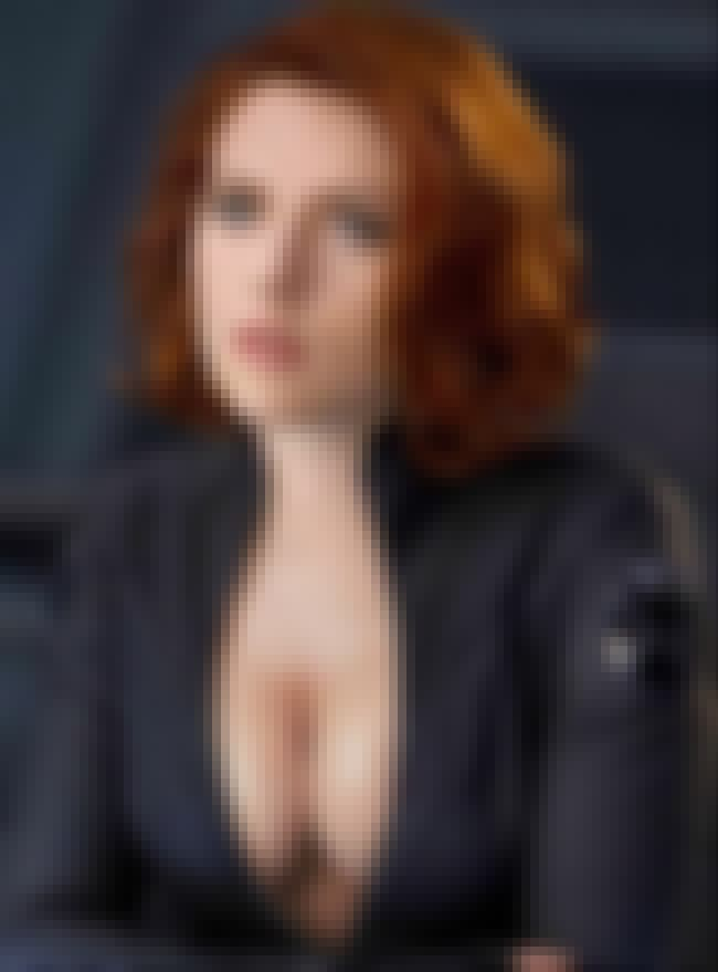 Scarlett Johansson as Black Wi... is listed (or ranked) 4 on the list Hot Scarlett Johansson Boobs Pics