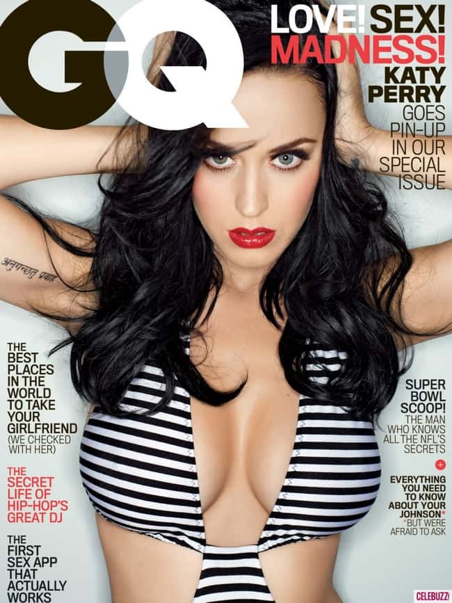 Katy Perry, cover girl is listed (or ranked) 7 on the list Hot Katy Perry Boobs Pics