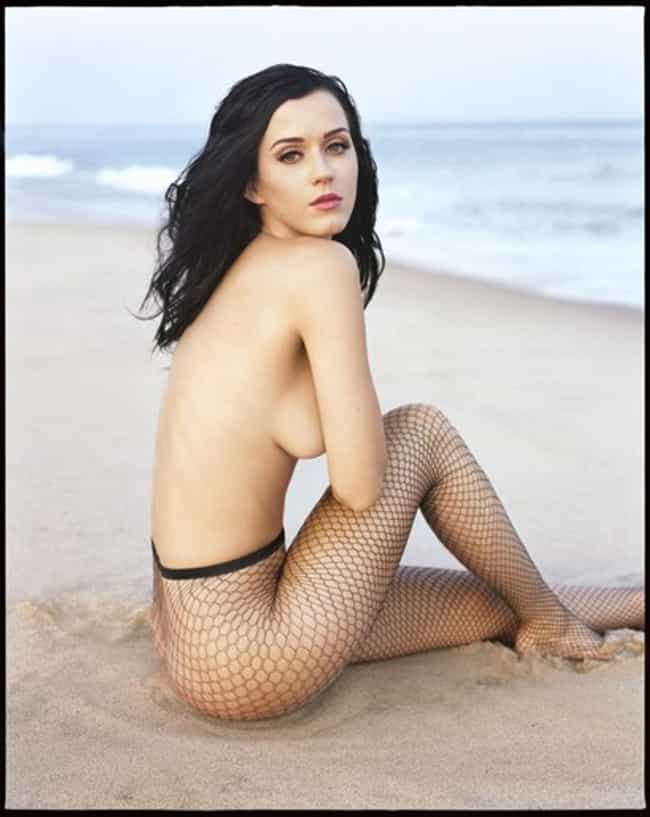Katy Perry, barely bare on the... is listed (or ranked) 4 on the list Hot Katy Perry Boobs Pics