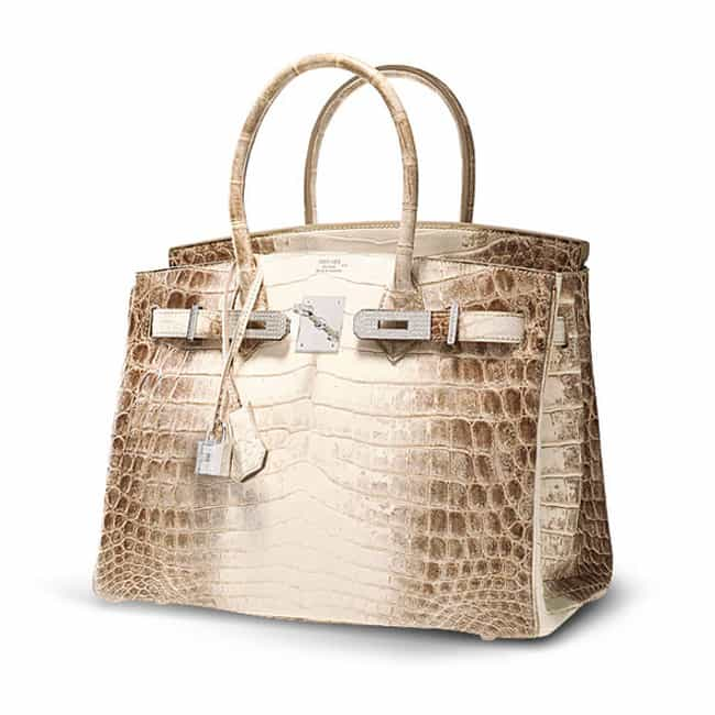 Hermes: Himalayan Crocodile Bi... is listed (or ranked) 3 on the list The Most Expensive Handbags