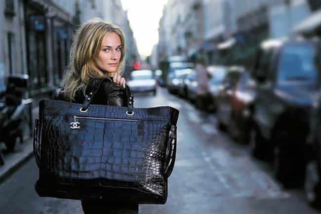 Chanel: Croc Biarritz is listed (or ranked) 8 on the list The Most Expensive Handbags
