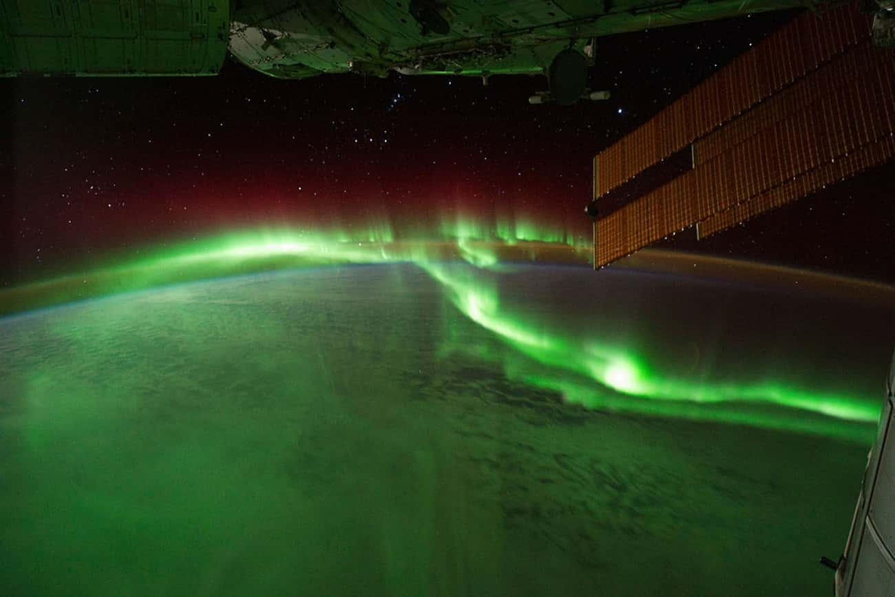 The Southern Lights Glowing ov is listed (or ranked) 3 on the list The Most Breathtaking Pictures of Earth from Space