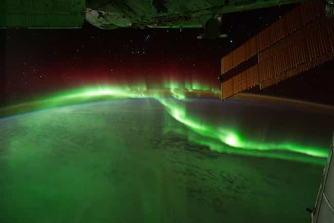 The Southern Lights Glowing ov... is listed (or ranked) 3 on the list The Most Breathtaking Pictures of Earth from Space