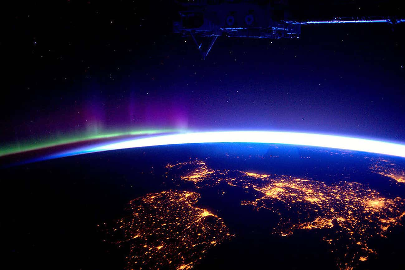 The British Isles Beneath the  is listed (or ranked) 4 on the list The Most Breathtaking Pictures of Earth from Space