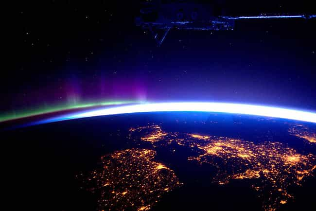 The British Isles Beneath the ... is listed (or ranked) 2 on the list The Most Breathtaking Pictures of Earth from Space