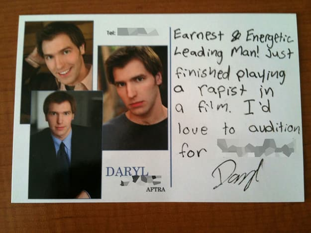 Eloquence: Not Daryl's Strongest Attribute on Random Most Hilarious Resume Fails to Ever Happen