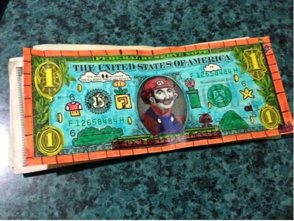 The Nintendo Founding Fathers Tip on Random Funniest and Most Creative Tips Ever Left