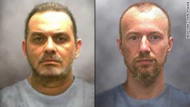 David Sweat and Richard Matt E... is listed (or ranked) 3 on the list 25 of the Most Daring Prison Escapes of All Time