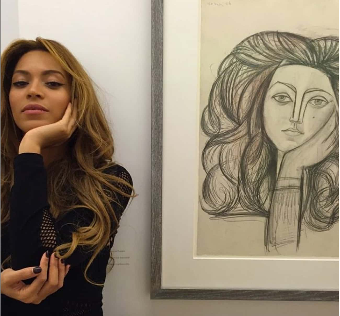 Let Art Inspire Your Life is listed (or ranked) 3 on the list 40 Lessons We Learned from Beyonce's Instagram