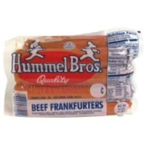 Hummels is listed (or ranked) 18 on the list The Hottest Hot Dog Brands Ever