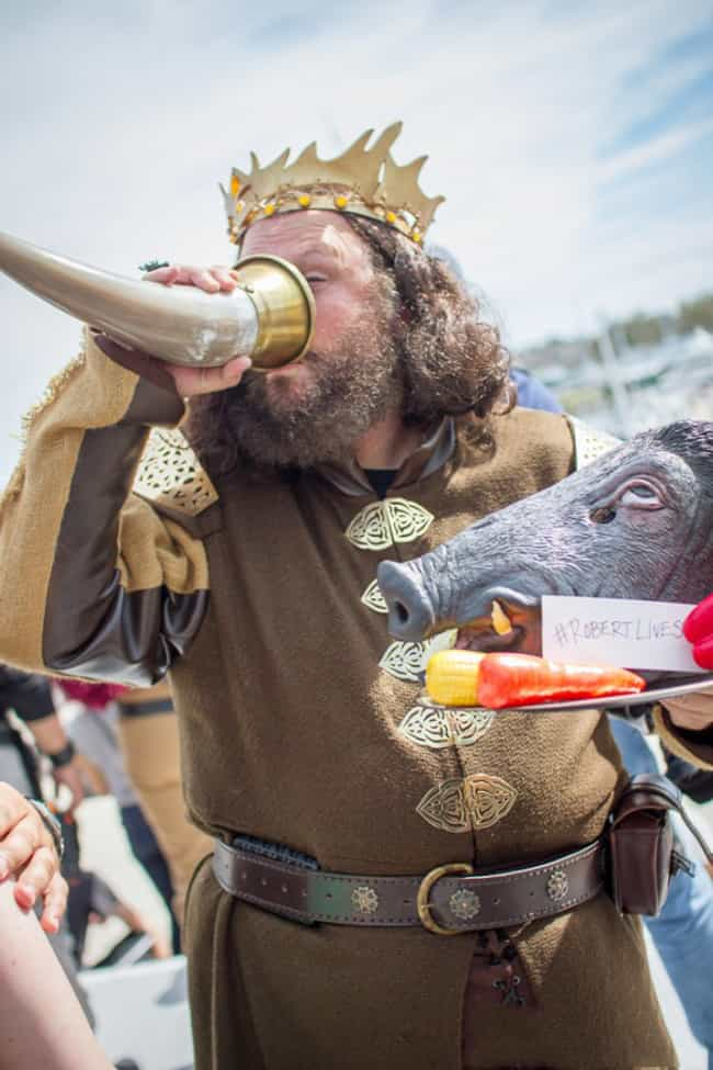 We Love A Man With His Own Has... is listed (or ranked) 4 on the list The Best Game of Thrones Cosplay from SDCC 2015