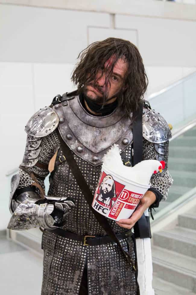 I'm Going To Eat Every Chi... is listed (or ranked) 3 on the list The Best Game of Thrones Cosplay from SDCC 2015