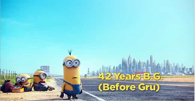 Minions Has a Cute Way of Esta... is listed (or ranked) 1 on the list 20 Fun Facts About the Minions