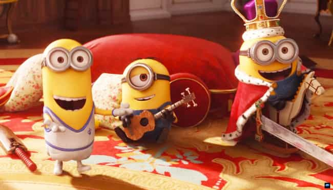 There Is a Retroactive Easter ... is listed (or ranked) 2 on the list 20 Fun Facts About the Minions