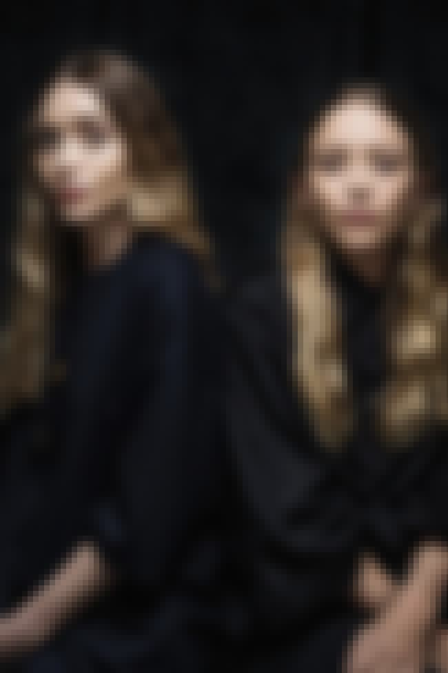 The Twins Gaze Into Your Soul,... is listed (or ranked) 3 on the list 10 Times Mary Kate and Ashley Olsen Haunted Us All