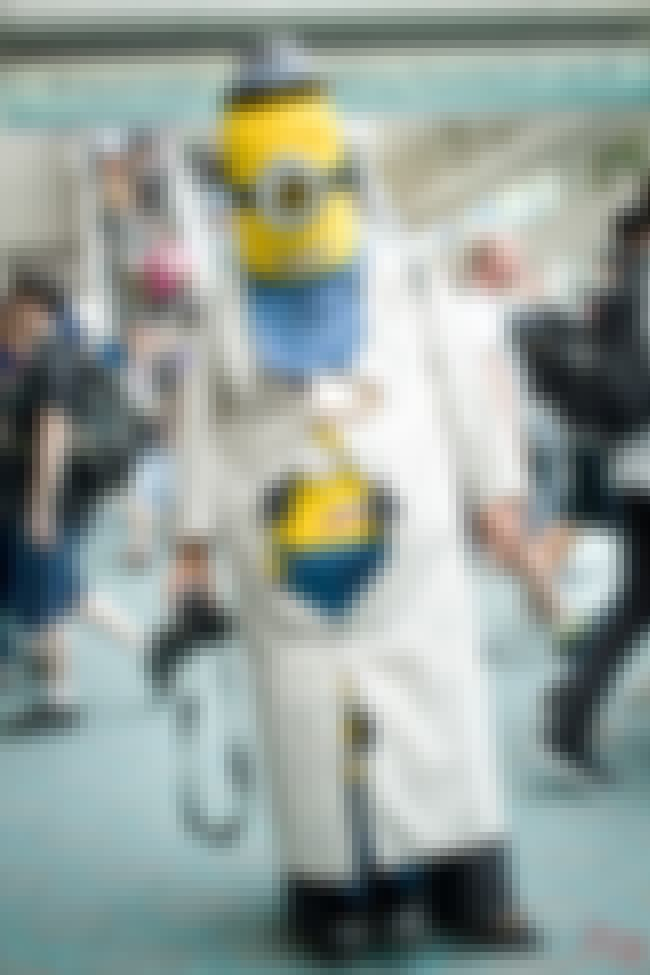 Minion/Cronenberg Body Horror ... is listed (or ranked) 2 on the list The Most Clever Cosplay At SDCC 2015