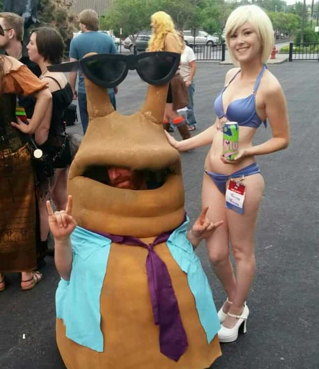 Whimmy Wham Wham Wazzle!... is listed (or ranked) 3 on the list The Most Clever Cosplay At SDCC 2015