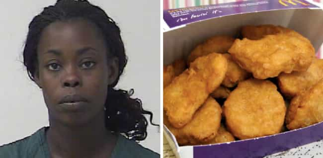 The Case of the Missing McNugg... is listed (or ranked) 1 on the list 22 Times People Called 911 Over Food