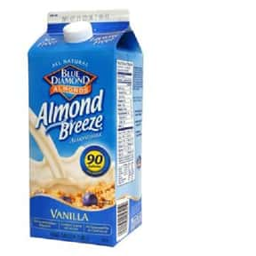Blue Diamond Almond Breeze is listed (or ranked) 1 on the list The Best Almond Milk Brands