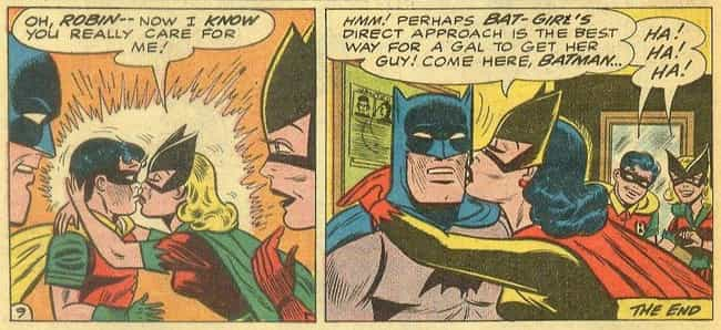 Batgirl and Batwoman is listed (or ranked) 2 on the list 16 Surprising Times Politics Totally Affected Comic Books