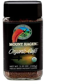 Mount Hagen is listed (or ranked) 17 on the list The Best Organic Coffee Brands