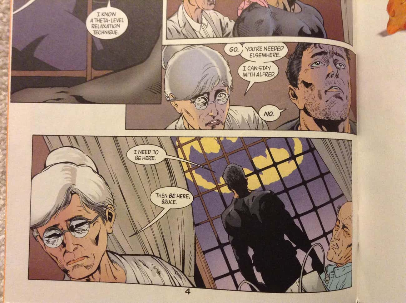 That Time He Ignored the Bat-S is listed (or ranked) 3 on the list 20 Times Batman Was Just so Lovable