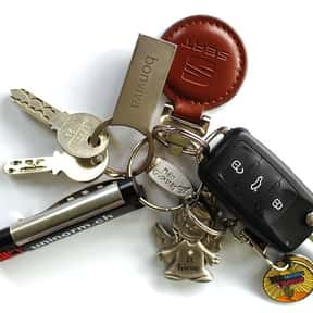 Keys is listed (or ranked) 2 on the list Things in Your Purse Right Now