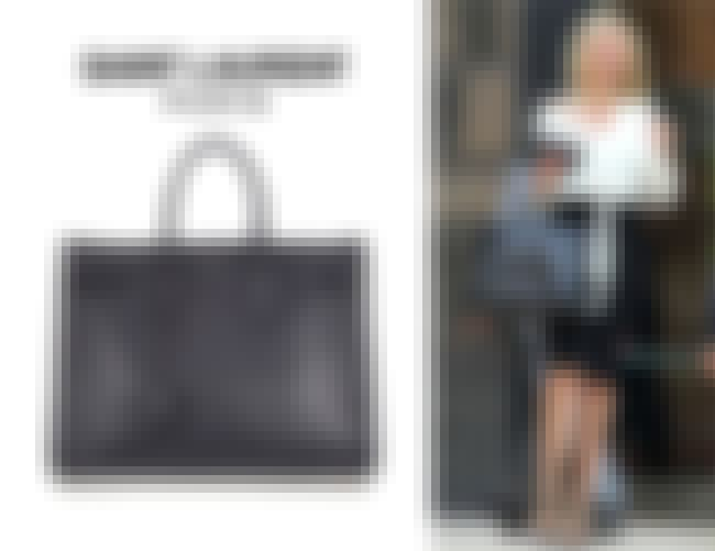 Saint Laurent Sac De Jour Tote is listed (or ranked) 4 on the list Hottest Celebrity Handbags
