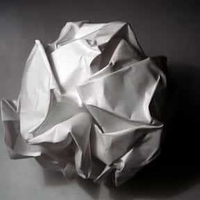 Reams of folded, crumpled old  is listed (or ranked) 22 on the list Things in Your Purse Right Now