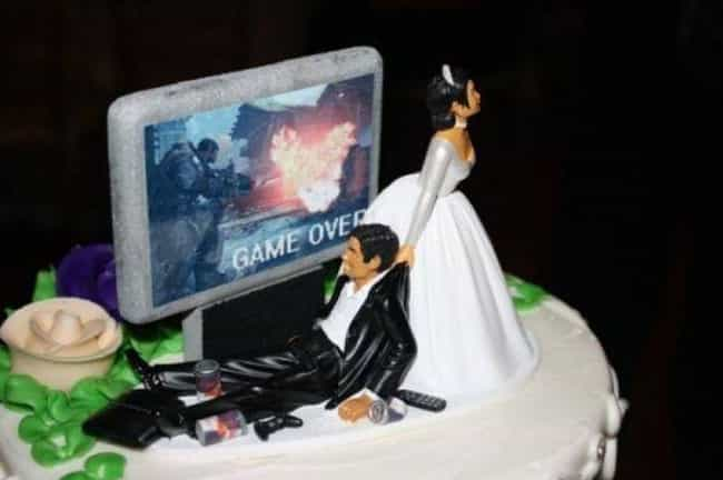 Game On is listed (or ranked) 3 on the list 28 Divorce Cakes That Are As Blunt As They Are Beautiful