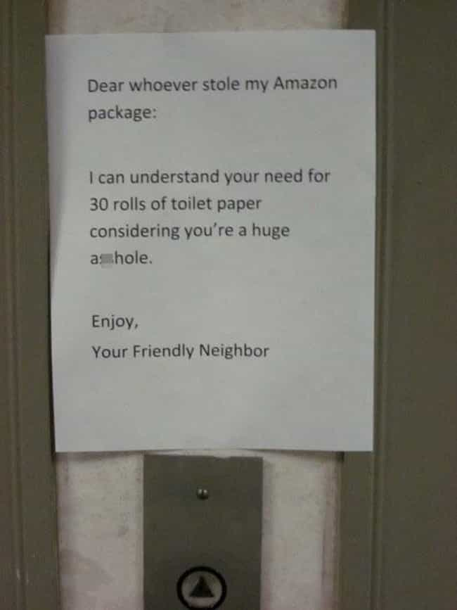 TP Stealer is listed (or ranked) 2 on the list The Best Passive Aggressive Notes From Neighbors