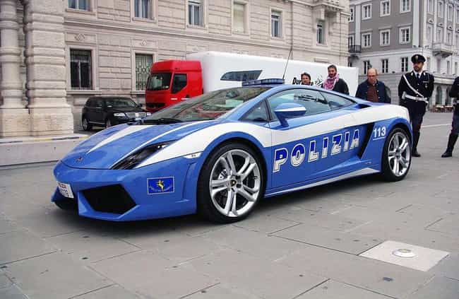 Italy: Lamborghini Hurac... is listed (or ranked) 1 on the list Which Country Has the Coolest Police Cars?