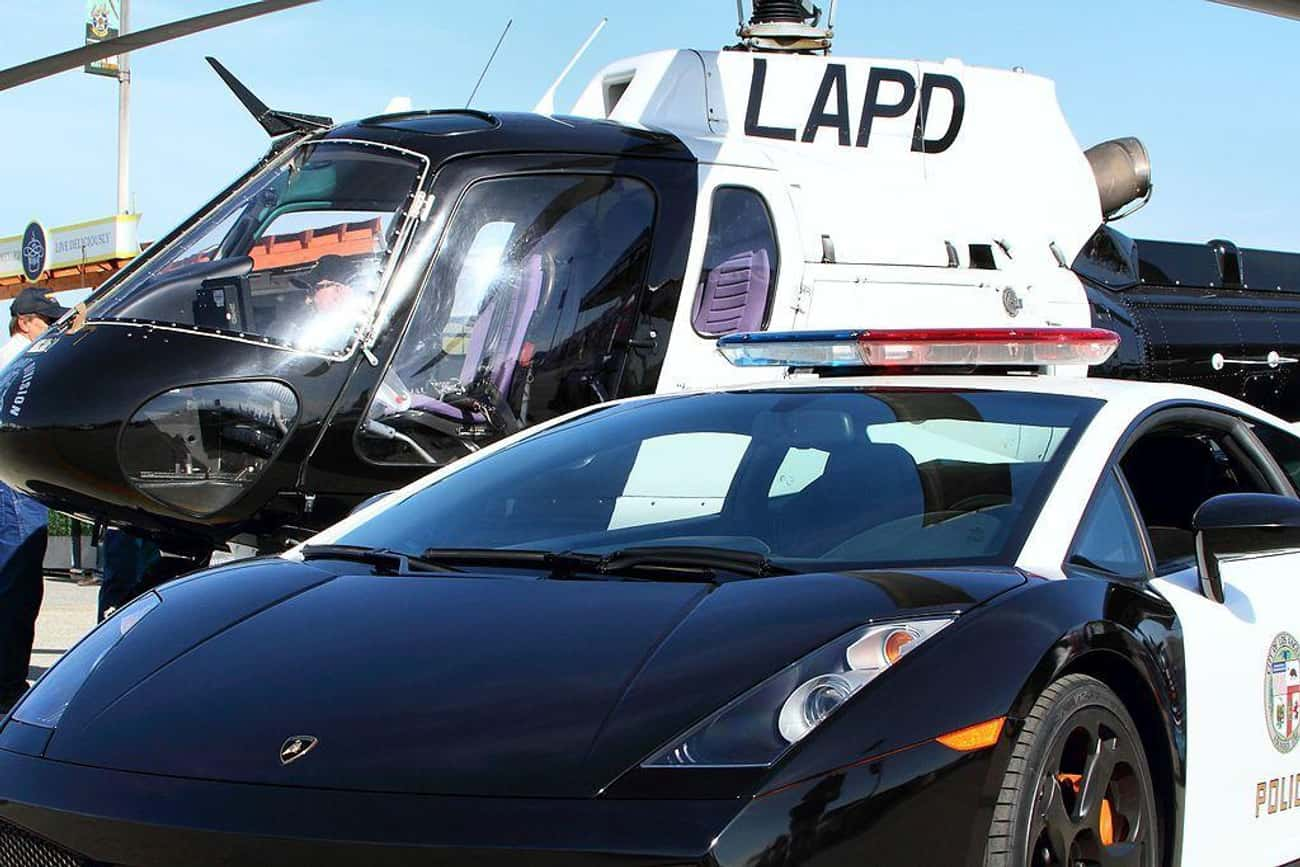 United States: Lamborghini Gal is listed (or ranked) 4 on the list Which Country Has the Coolest Police Cars?
