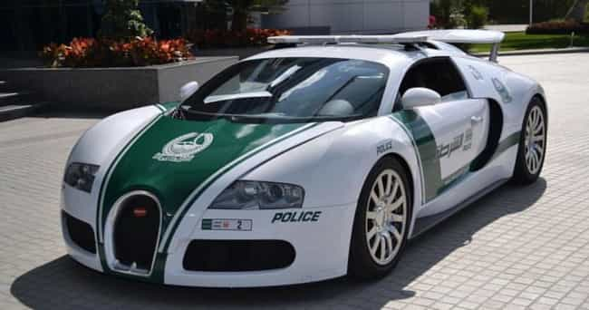 Dubai: Bugatti Veyron is listed (or ranked) 4 on the list Which Country Has the Coolest Police Cars?